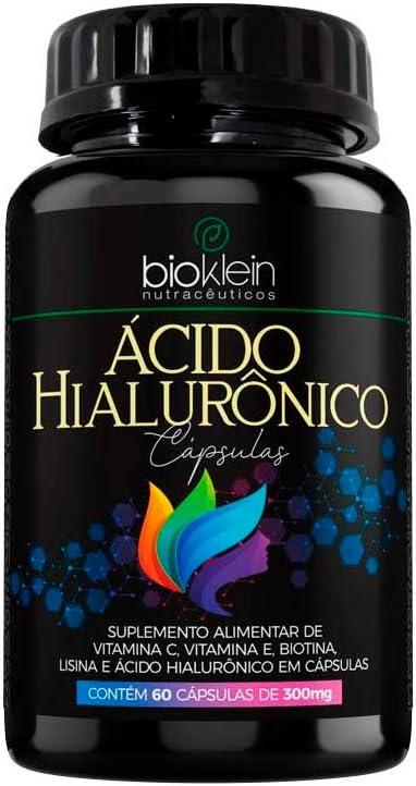 Ácido Hialurônico - 60 Cápsulas - Bioklein por Bioklein