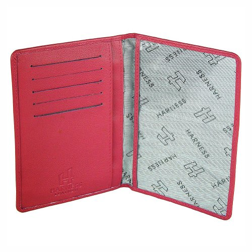 Harness Women's Leather passport Holder
