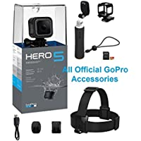 GoPro HERO5 Session Action Camera Bundle with Bonus Head...