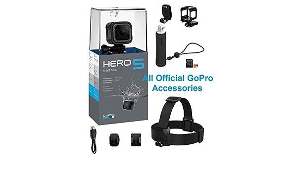 GoPro Hero5 - Cámara de acción con Correa para la Cabeza y ...