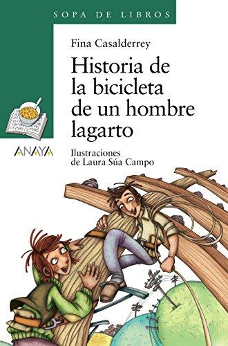 Amazon.com: Historia de la bicicleta de un hombre lagarto ...