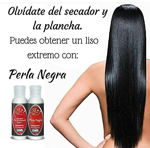 Amazon.com : Cirugía Capilar PERLA NEGRA XY, 50 ML (2 Pasos) : Everything Else