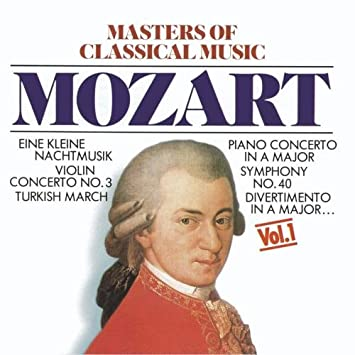 Masters Of Classical Music: Mozart