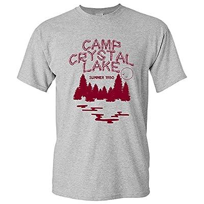 UGP Campus Apparel Camp Crystal Lake - Funny 80s Horror Movie Halloween Friday Thirteenth Jason T Shirt