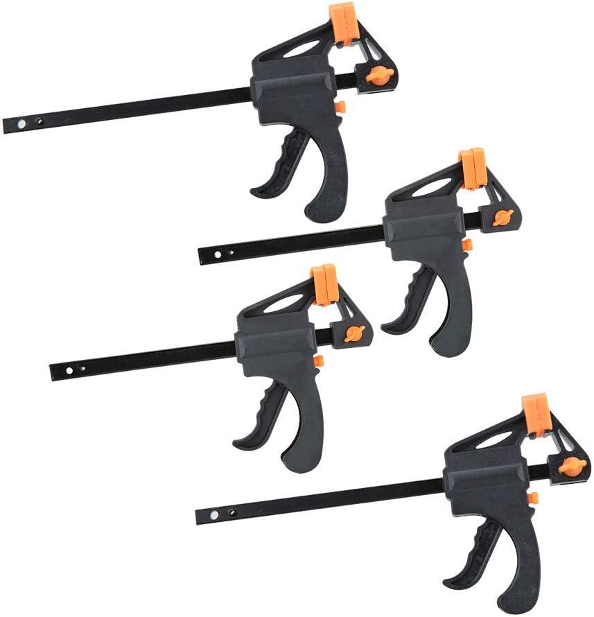 15cm comprend 2 Lot de et Lot de 2 de 10cm Nuzamas Plastique 10x15cm F Ensemble de colliers de serrage prise en main rapide et lib/ération /à cliquet r/églable,outil de travail du bois DIY Kit