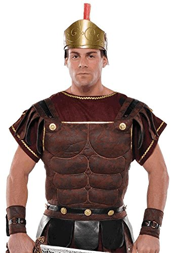 AMSCAN Roman Soldier Halloween Accessory Kit for Adults, One Size