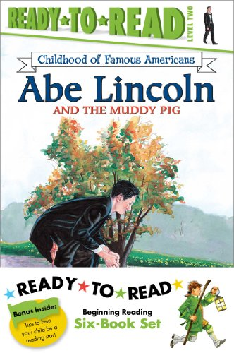 Childhood of Famous Americans Ready-to-Read Value Pack: Abe Lincoln and the Muddy Pig; Albert Einstein; John Adams Speak