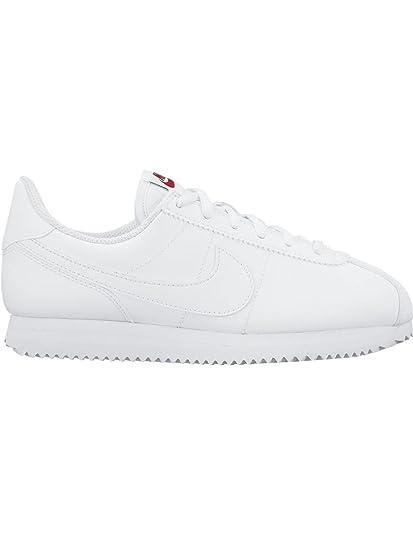 ZAPATILLAS NIKE CORTEZ BASIC BLANCO MUJER 38 Blanco: Amazon.es: Zapatos y complementos