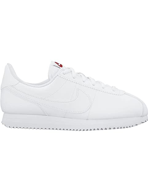 finest selection afddb bac50 ZAPATILLAS NIKE CORTEZ BASIC BLANCO MUJER 38 Blanco Amazon.es Zapatos y  complementos