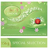 Lindt Lindor Spring Edition (Milk, Milk/White and Stracciatella) Gift Box, 156g