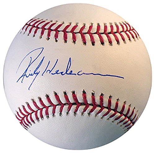 Henderson Autographs (Rickey Henderson Signed Autograph Official Major League Baseball- Beckett Authentic)