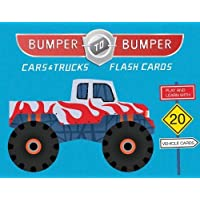 Bumper-To-Bumper Cars & Trucks Flash Cards (First Words Vehicle Cards For Kids, Transportation Flashcards for…