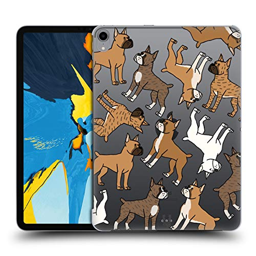 Head Case Designs Boxer Dog Breed Patterns 3 Hard Back Case Compatible for iPad Pro 11 ()