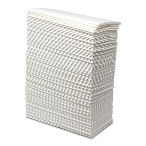 Paterson Paper 8×17″ Linen Like Napkins Disposable (1000/Case White)