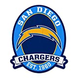 """11X13"""" San Diego Chargers NFL Wood Street Sign"""