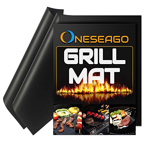 Review Of Best Quality BBQ Grill Mat Set of 2 - 100% Non stick BBQ Grill & Baking Mats -FDA-Approved...