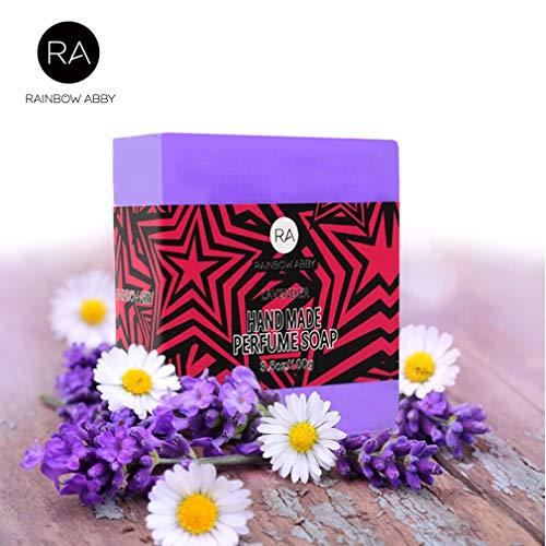 Lavender Essential Oil Bar Soap Natural Handmade Perfume Soap Bar 3.5 Oz, for bath soap, hand soap, shaving soap, Body & ()