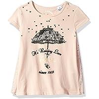 Little Girls' Short Sleeve Graphic T-Shirt