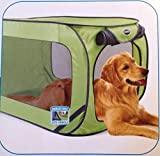 Sportpet Pop Open Dog Kennel (Large Size in Green) For Sale