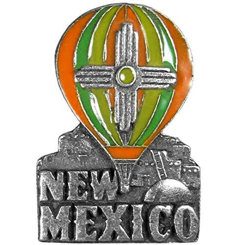 Siskiyou New Mexico Hot Air Balloon Lapel Pin    ]()