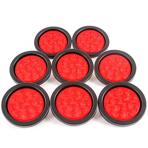 4In Round Led Tail Lights in US - 6
