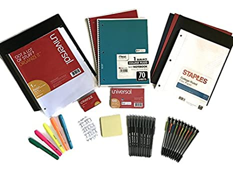 Amazoncom School Supply Bundle For Middle High School Or College