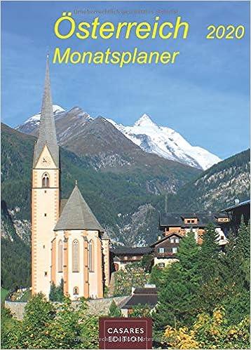 Ebook epub Österreich Monatsplaner 2020 30x42cm