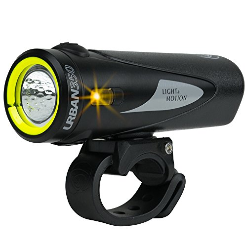 Light & Motion Urban 350 Bike Headlight, Obsidian Stout