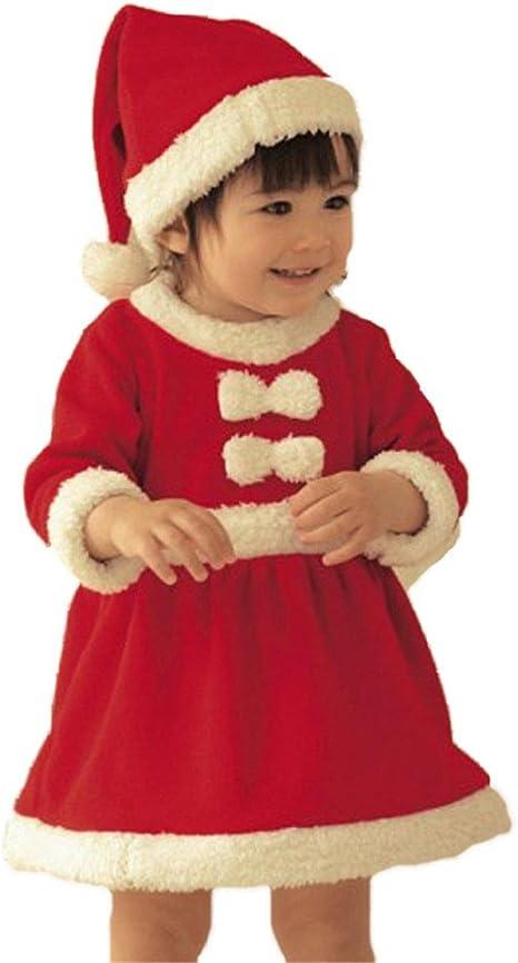 traje de navidad, Kfnire bebé santa claus disfraz de navidad 6-18 ...
