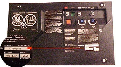Craftsman 41A5021 3E Garage Opener Circuit