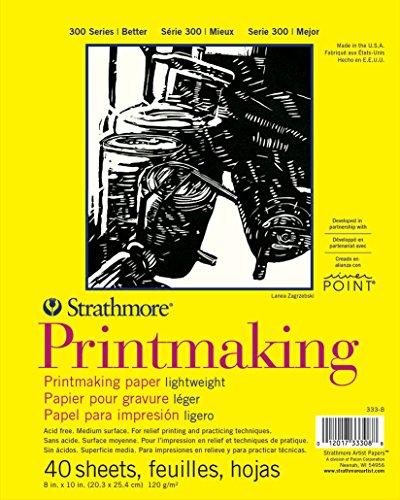 Strathmore (333-8 300 Series Lightweight Printmaking, 8'x10', 40 Sheets