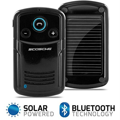 Scosche solCHAT II Bluetooth Solar Powered Handsfree