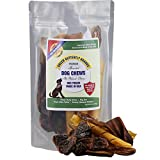 Green Butterfly Brands Assorted Dog Chews – All Natural, Chewy Dog Treats Made in USA – Pig Ear, Bully Stick, Pork Hide Twist Pieces & Turkey Gizzard Assortment Pack – One Ingredient Chews – Dogs Love For Sale