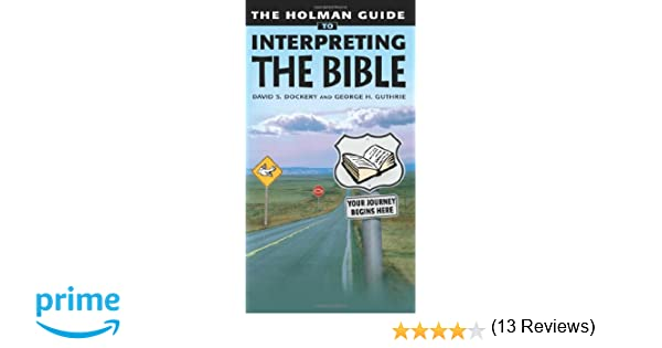 Workbook bible worksheets for middle school : Holman Guide to Interpreting the Bible: Your Journey Begins Here ...