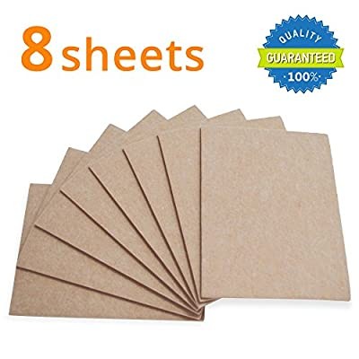 "X-PROTECTOR Premium 8 THICK 1/5"" HEAVY DUTY Felt Sheets 5 4/5""x7 4/5"" BEIGE! Cut Furniture Pads for Furniture Feet You Need – Best Felt Pads & Furniture Felt For Protection Your Hardwood Floors!"