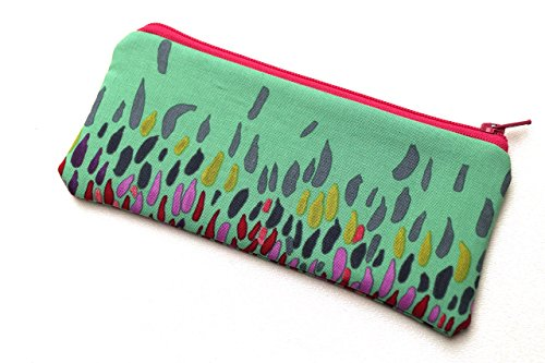Colorful Fabric Glasses Case or Cosmetic Pouch