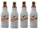 MLB Baltimore Orioles Glitter Bottle Suit Koosie (Pack of 4)