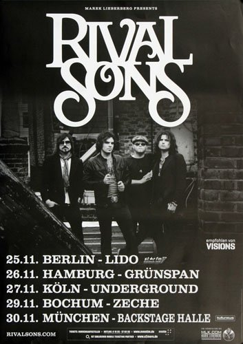 rival sons poster - 2