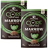 Wellness CORE Marrow Roasts Natural Grain Free Dog Treats, 8-Ounce Bag (Turkey, 8-Ounce Bag (Pack 2))