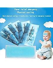 Delaspe 5 st kylande lapp feber is lapp sommar kyllapp, lämplig för feber, huvudvärk och andra symtom