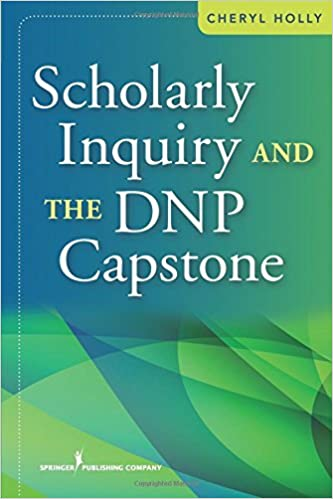 Book Scholarly Inquiry and the DNP Capstone