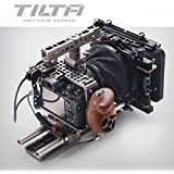 TILTA ES-T17-C Sony Alpha A7S A7R A7S II A7R II Mark II MK2 Lightweight ES-T17A rig Cage 15mm rod release baseplate + FF-T03 Follow focus +MB-T05 4*4 Mattebox + wooden handle