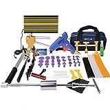 Weylon Paintless Dent Repair Pdr Dent Puller Kit Slide Hammer Kits Hail Repair Kit Medium Dent Repair PDR Kit (53pcs)