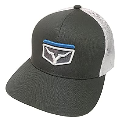 YNOT Lifestyle Brand Tony 2.0 Grey and Electric Blue Snapback Hat