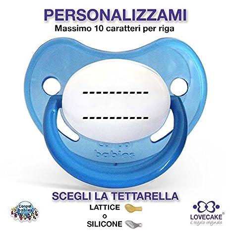 Chupete personalizado - CANPOL - Bimbo (Azul) 0+ Lattice ...
