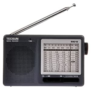 Tecsun R-9012 AM/FM/SW 12 Bands Shortwave Radio Receiver