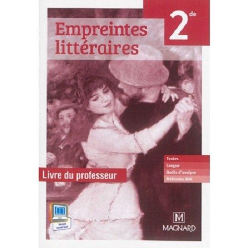 Telecharger Empreintes Litteraires Francais 2de Livre Du