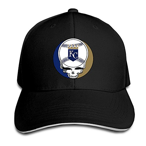 [Harriy Royals-Grateful Dead Running Sandwich Hat Black] (Sluggerrr Costume)
