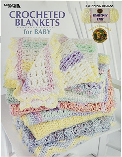 LEISURE ARTS Crocheted Blankets for - Afghan Pattern Knit Ripple