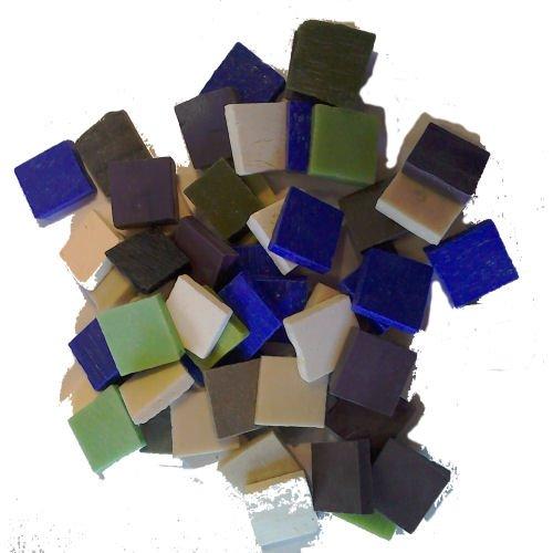 Golosinas Mix 2 cm x 2 cm x 4 mm piastrina 200 G unidades Angelo Orsoni Venice Italy